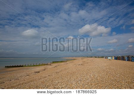 Hayling Island near Portsmouth south coast of Hampshire England UK