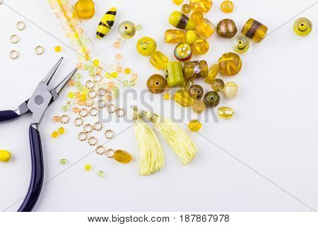 Yellow Bead Mix