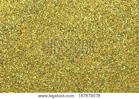 Surface of Golden sandpaper for design your work Texture background.
