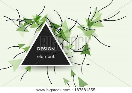 Colorful Vector Background With Abstract Computer Mouse Cursors. Attractive Conceptual Illustration For Internet Marketing.
