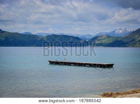 Lake Tazawa In Tohoku, Japan