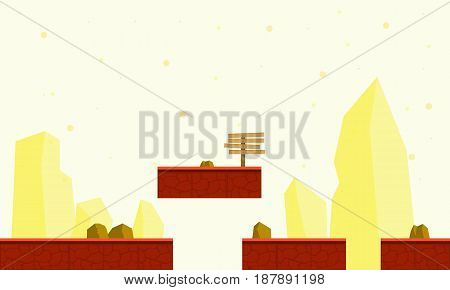 Vector illustration game background style collection stock
