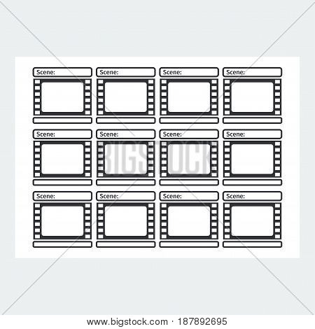 storyboard template vector photo free trial bigstock