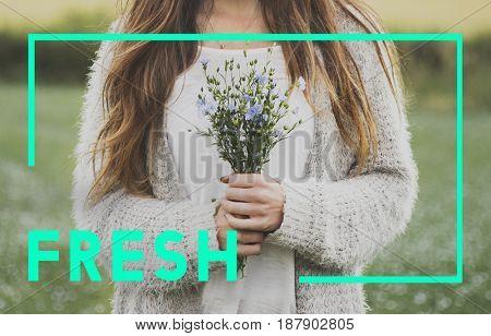 Fresh Pure Nature Ecology Concept