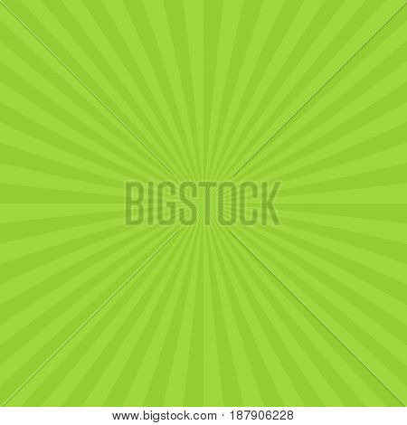 Abstract ray burst background from radial stripes - vector design