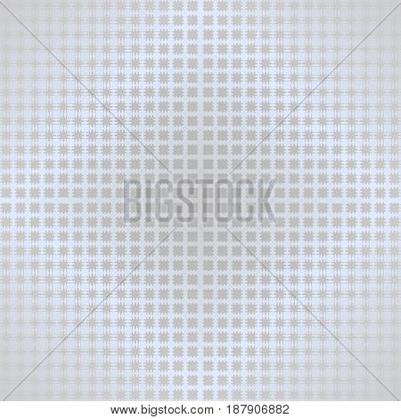 Abstract background with light deformed metallic gritty grid on light gray area, overlay for text, vector EPS 10