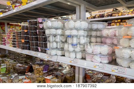 Chocolate Covered And Regular Zephyr Or Marshmallow For Sale Israeli Food Supermarket
