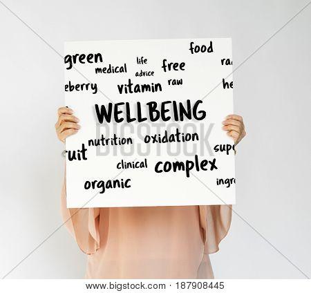 Natural food balance healthy life