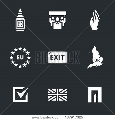 Tower, people, vote, european union, exit, map, choice, flag, door.