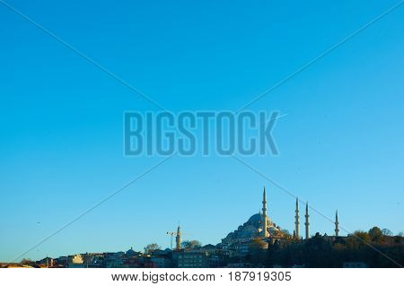 The Suleymaniye Mosque is an Ottoman imperial mosque in Istanbul, Turkey. It is the largest mosque in the city