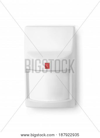 The motion sensor isolated on white background