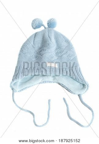 Baby Hat Isolated on White background .