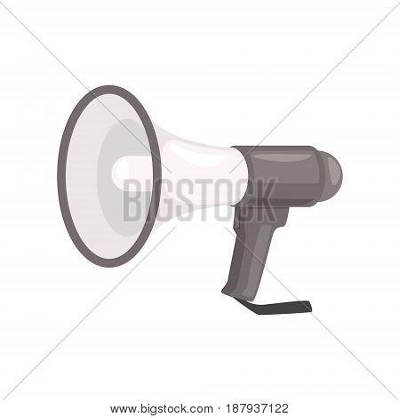 Megaphone or loudspeaker vector Illustration isolated on a white background