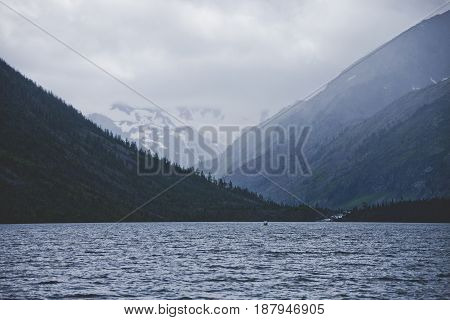 Multinskoe Lake. Altai Landscape.