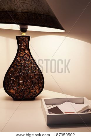 Decorative Lamp And Pad And Pen