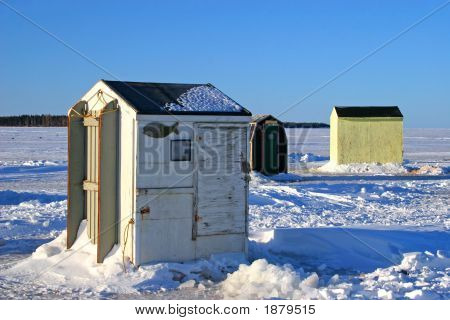 Ice Fishing Huts 2