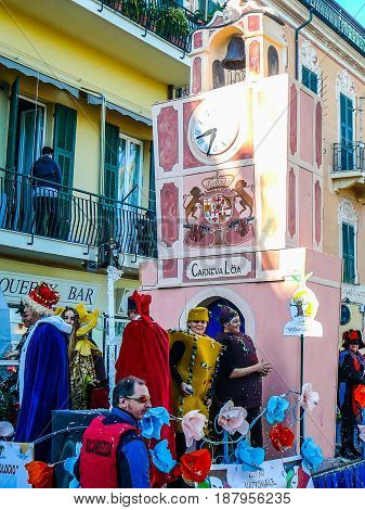 Hdr Carnival Celebrations In Loano