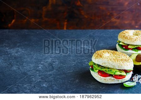 Bagels With Avocado