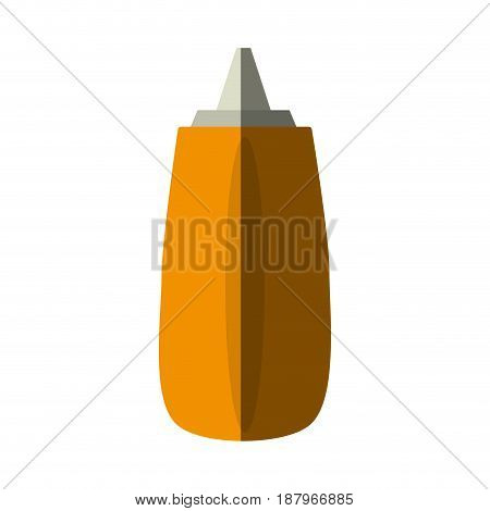 condiment or sauce bottle icon image vector illustration design