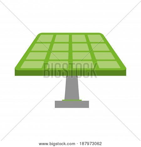 solar panel eco friendly related icon image vector illustration design