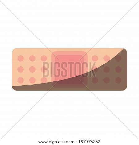 adhesive bandage healthcare related icon image vector illustration design