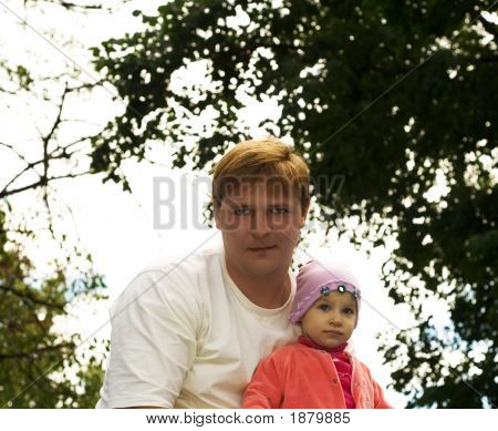 Dad With A Child