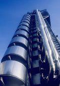 lloyds of london insurance company building london england uk europe poster