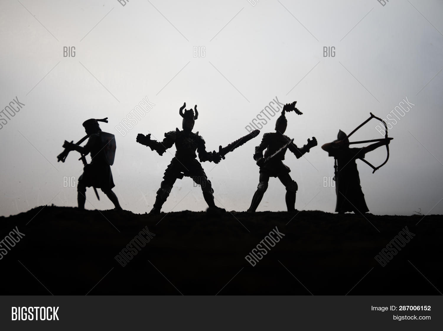 Medieval Battle Scene Image & Photo (Free Trial) | Bigstock