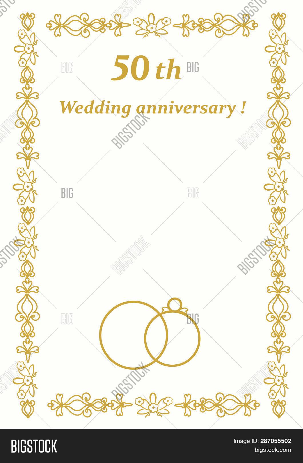 50th Wedding Image Photo Free Trial Bigstock