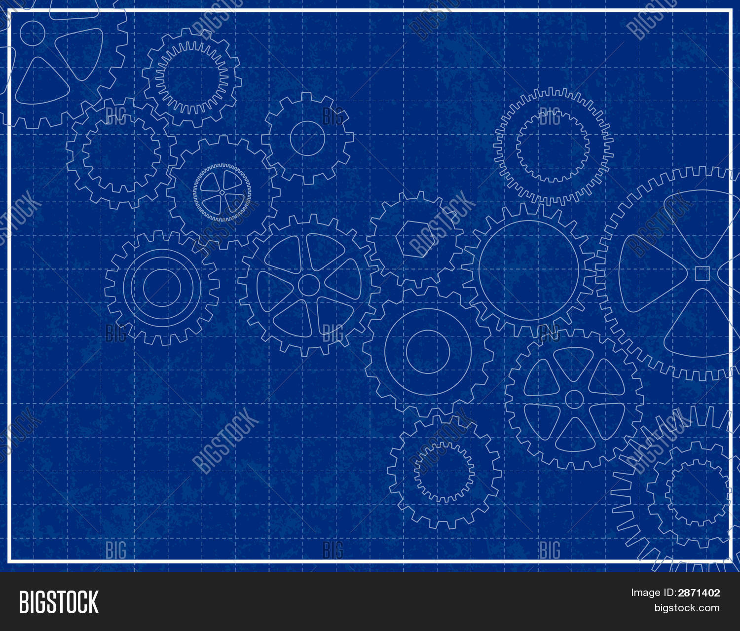 Blueprint background cogs vector photo bigstock blueprint background with cogs malvernweather Gallery