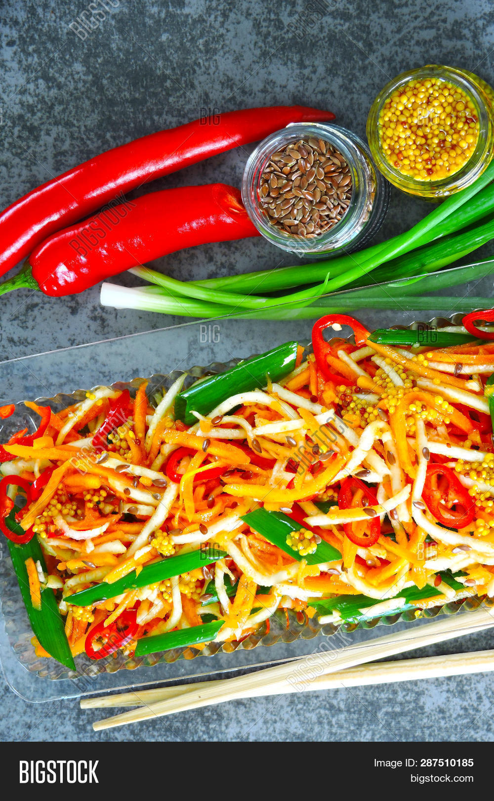 Salad Marinated Image & Photo (Free Trial)   Bigstock