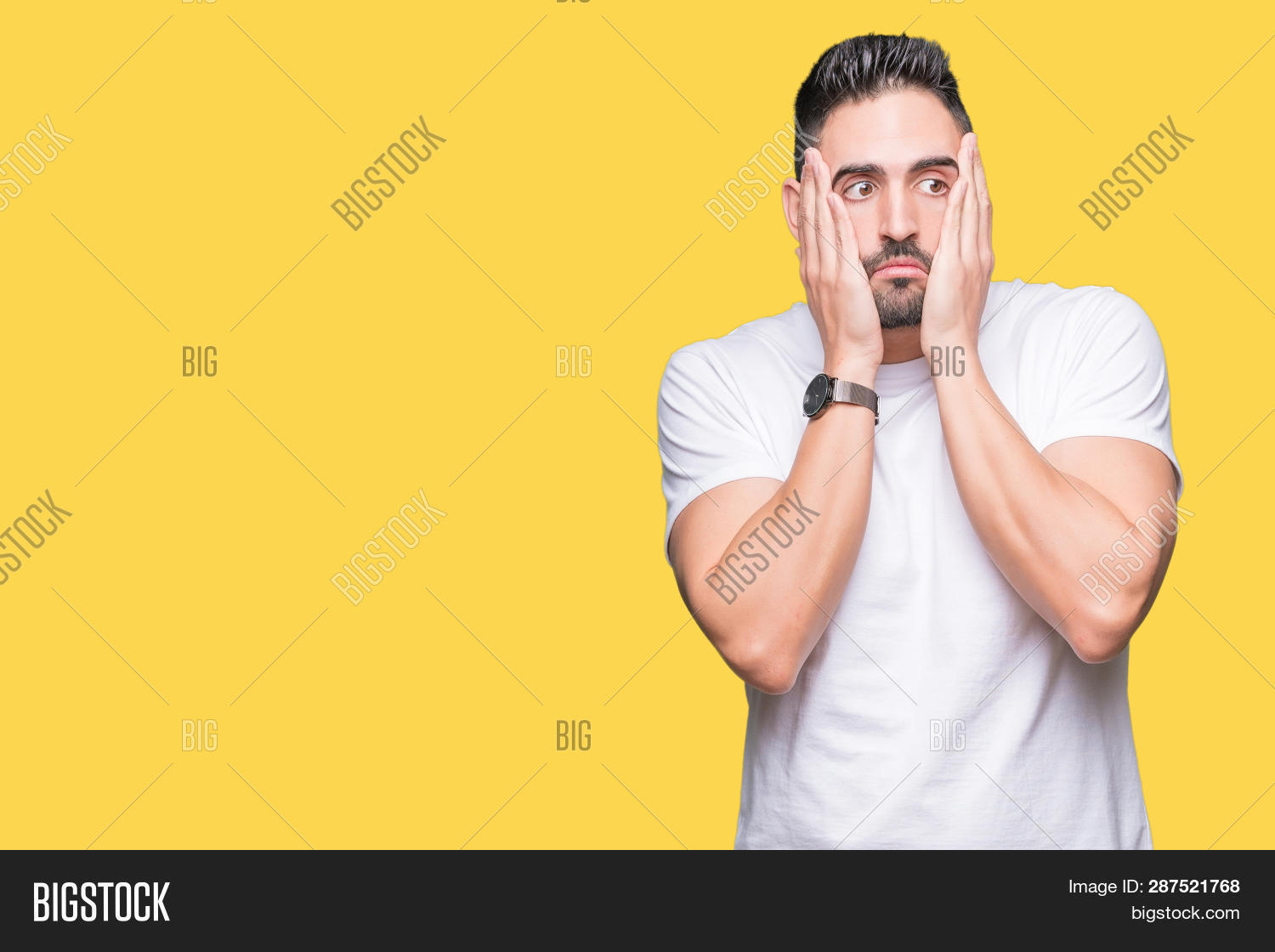 Handsome Man Wearing Image & Photo (Free Trial) | Bigstock
