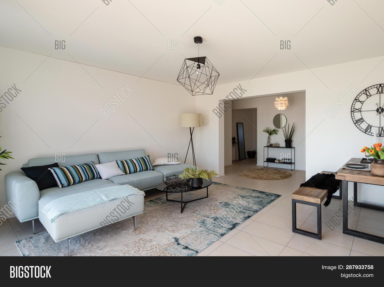 Modern Living Room Image Photo Free Trial Bigstock