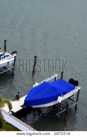 Boat At Dock