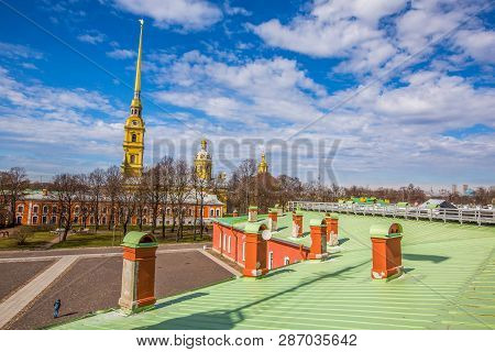 Peter And Paul Cathedral, 18th-century Romanov Dynasty Burial Site - Saint Petersburg, Russia