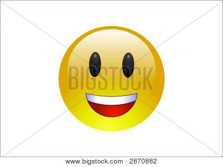 Aqua Emoticon Laughing