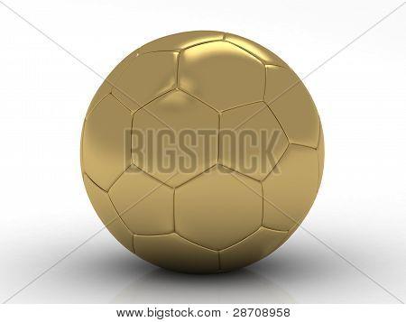 golden football- soccer ball