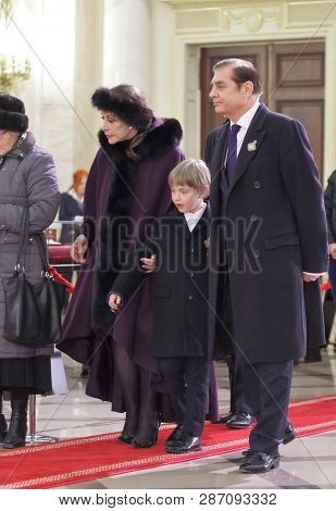 Bucharest, Romania - December 13, 2017: Paul Lambrino (d), Also Known As Prince Paul Of Romania, Wit