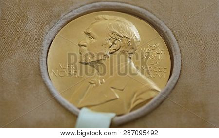 The Nobel Prize Of George Emil Palade - Donated In Bucharest Romania