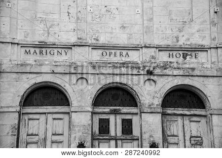 Marigny Opera House Is A Repurposed Church Reconverted