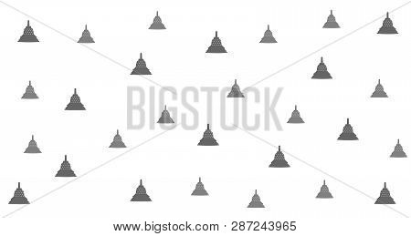 Temple Style Background Design, With Abstract Placement. Flexible To Use For Anyone And Anyone.