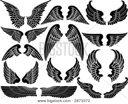 Angel Wings Images Illustrations Vectors Free Bigstock