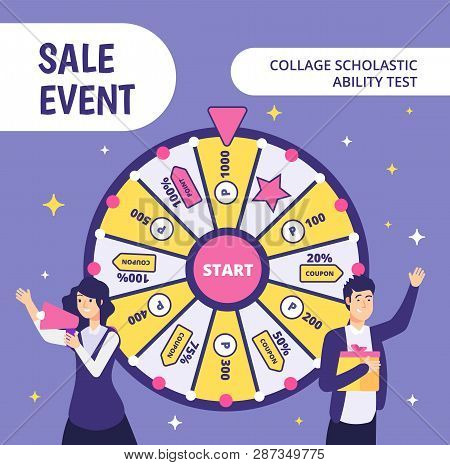 Examinees Discount Event. Sat Work Event Ability Businessman Gift High Worker College Student In Uni