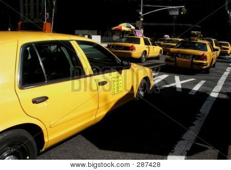 Taxi Cabs In NY