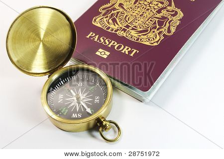 Compass With UK Passport