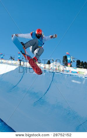 Victor Habermacher, Snowboard Halfpipe, Youth Games 2012