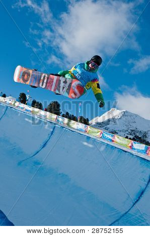 Manex Azula, Snowboard Halfpipe, Youth Games 2012