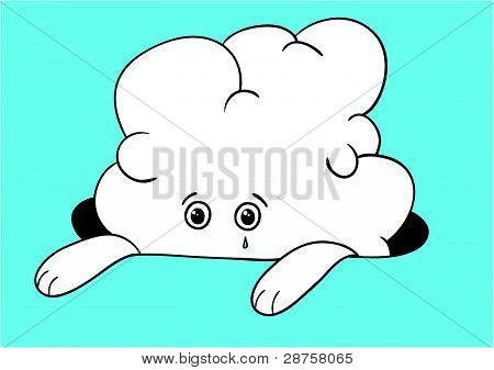 Sad cloud