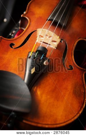 A Violin In Violin Case