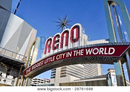 Reno Nevada Entrance Sign